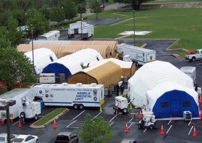 Mobile Medical Shelter
